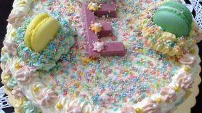Εύκολη τούρτα με μερέντα για τα παιδάκια που έχουν αυτές τις ημέρες γενέθλια
