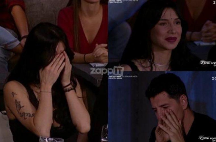 """""""Λύγισε"""" η Πάολα στην εκπομπή του Παπαδόπουλου! Συγκινημένος και ο Σάκης Ρουβάς"""