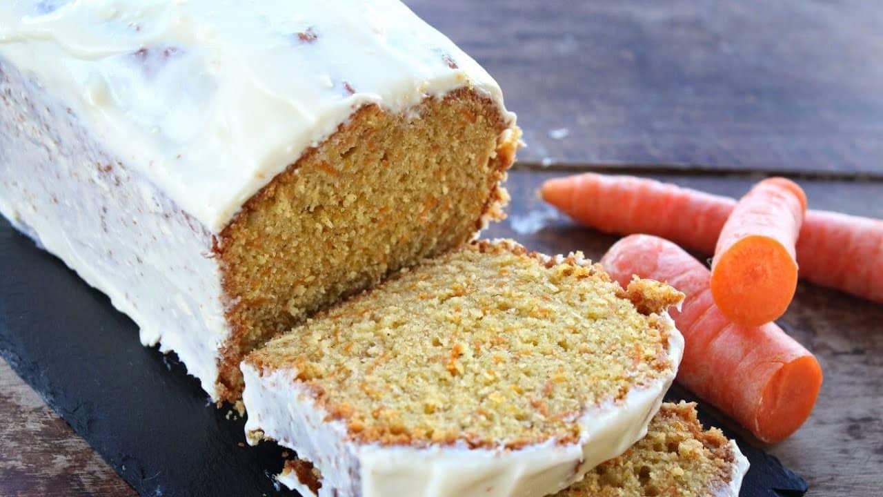 Το πιο Αφράτο & Εύκολο Κέικ Καρότου - Fluffy Carrot Cake with cream Cheese