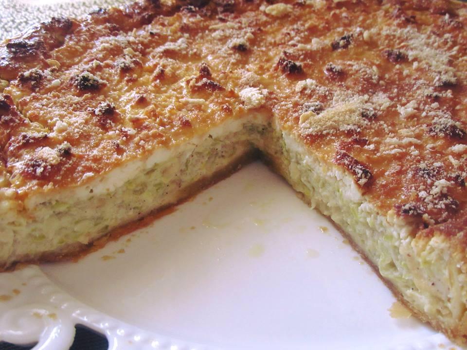 Τάρτα μπατζίνα- Η παραδοσιακή πίτα τώρα και σε τάρτα!