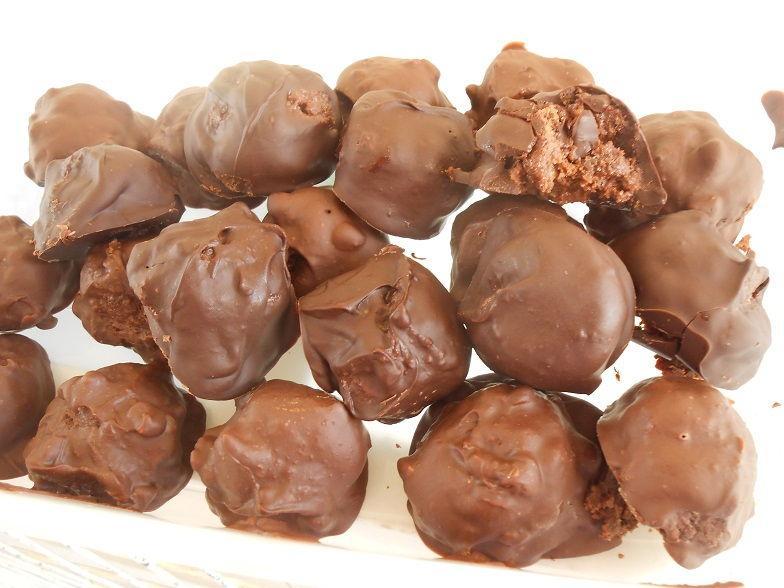 Σοκολατάκια από cookies που έμειναν με 3 υλικά -Truffles from cookies that were left