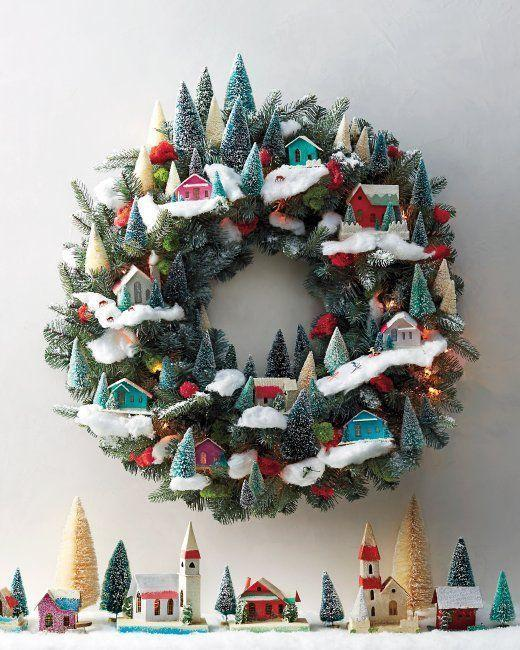 Υπέροχα Χριστουγεννιάτικα στεφάνια για την διακόσμηση του χώρου σας part2!