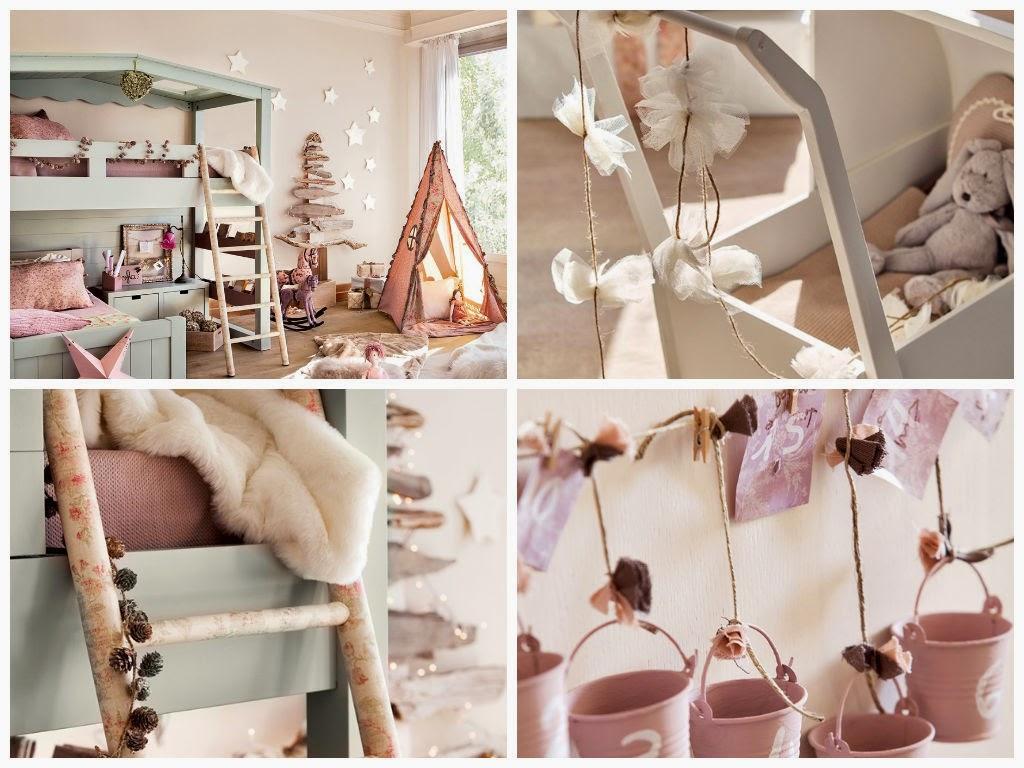 Διακόσμηση για κοριτσίστικα δωμάτια με άρωμα Χριστουγέννων!
