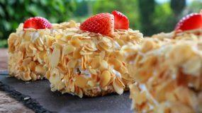 Υπέροχη πάστα αμυγδάλου - Almond Cake (vid)
