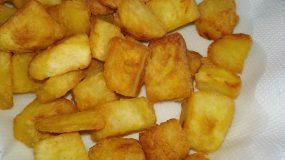 Συνταγή για  σπιτικές προτηγανισμένες πατάτες για κατάψυξη