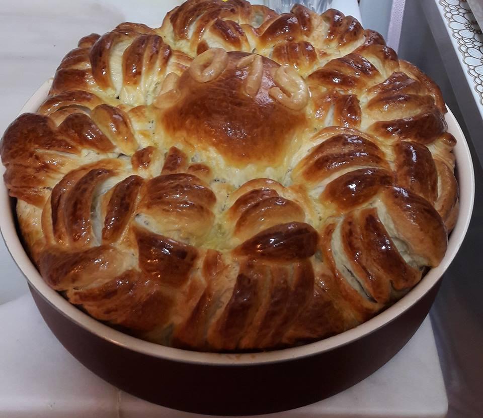 Συνταγή για Παραδοσιακό ψωμί για την Πρωτοχρονιά