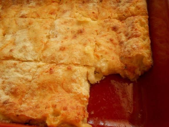 Τυρόπιτα σουφλέ με 3 τυριά-Cheese soufflé with 3 cheeses