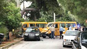 Τροχαίο με σχολικό λεωφορείο - Πως έγινε το ατύχημα
