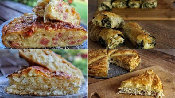 4 Συνταγές για τις πιο Νόστιμες Πίτες - 4 Amazing Pie Recipes