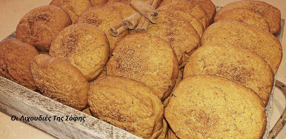 Μπισκότα κανέλας χωρίς ζύμωμα αφράτα και εύκολα από τη Σοφη Τσιώπου