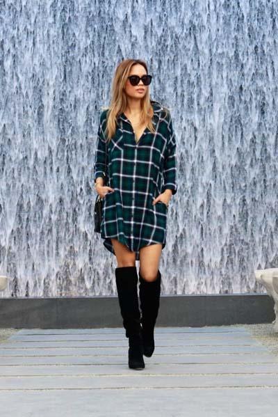 Προτάσεις για να συνδυάσεις το καρό ρούχο σου από το πρωί ως το βράδυ!