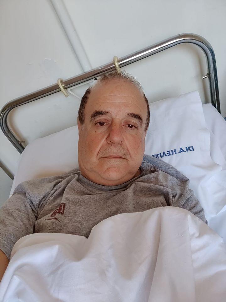 Στο νοσοκομείο ο Παύλος Χαϊκάλης- Τι συμβαίνει με την υγεία του