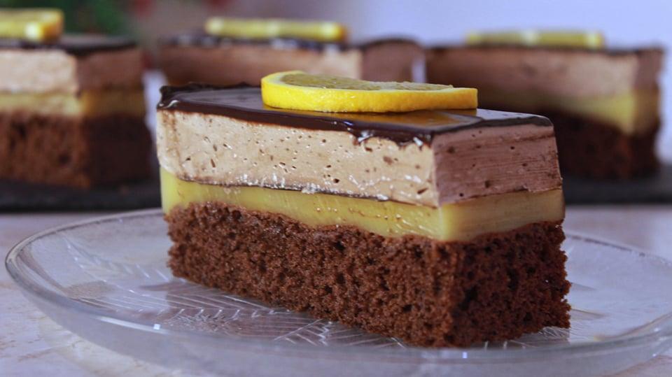 Φανταστική Πάστα Σοκολάτα Πορτοκάλι - Chocolate Orange Mini Cakes
