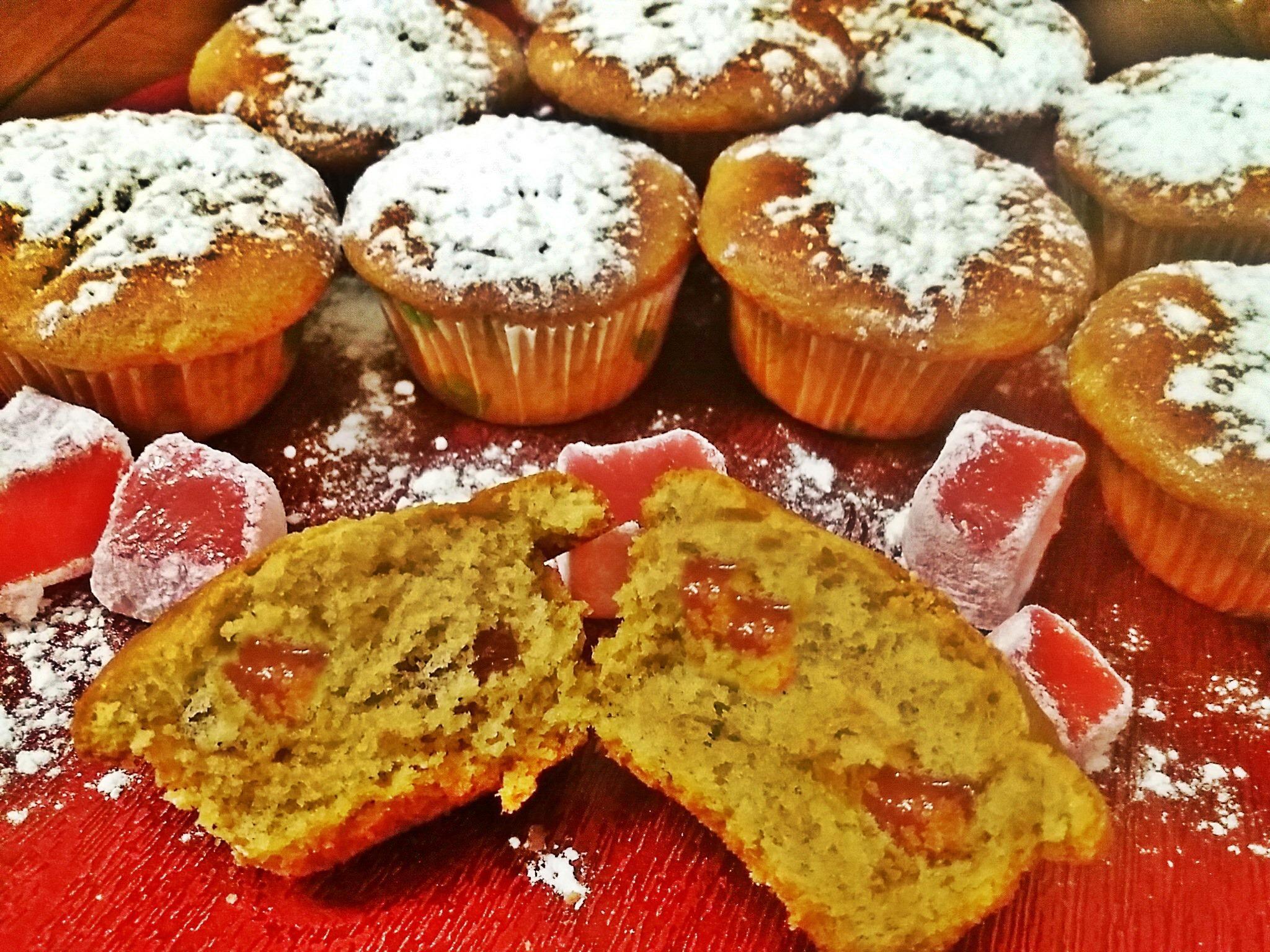 Μαγειρεύοντας με την Αρετή: Cupcakes με λουκούμι