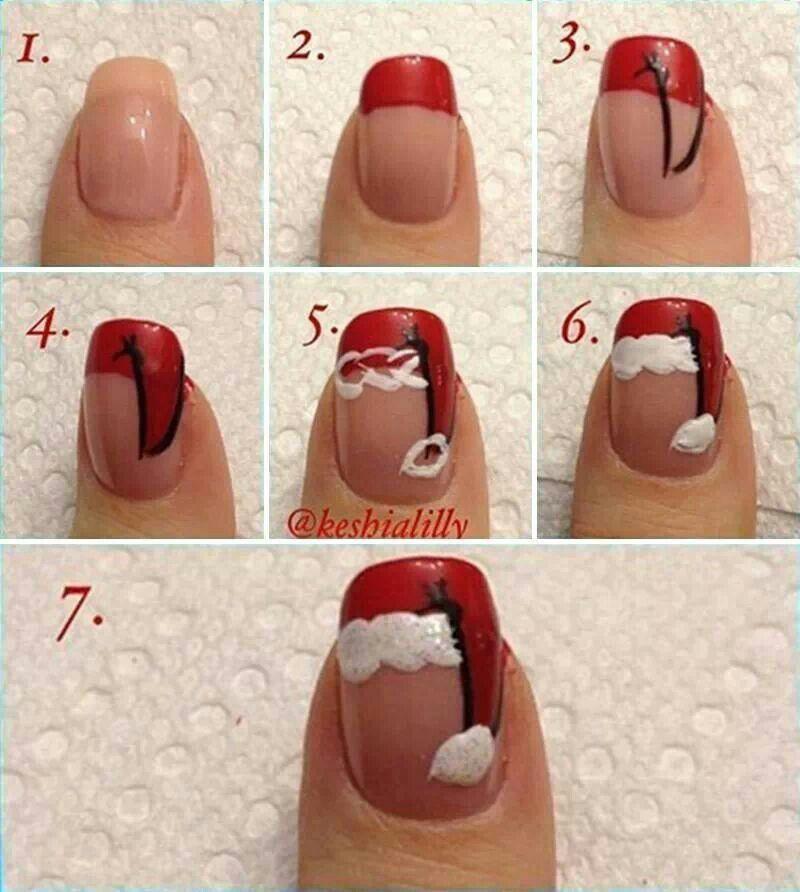 Εντυπωσιακά DIY χριστουγεννιάτικα σχέδια στα νύχια βήμα βήμα!