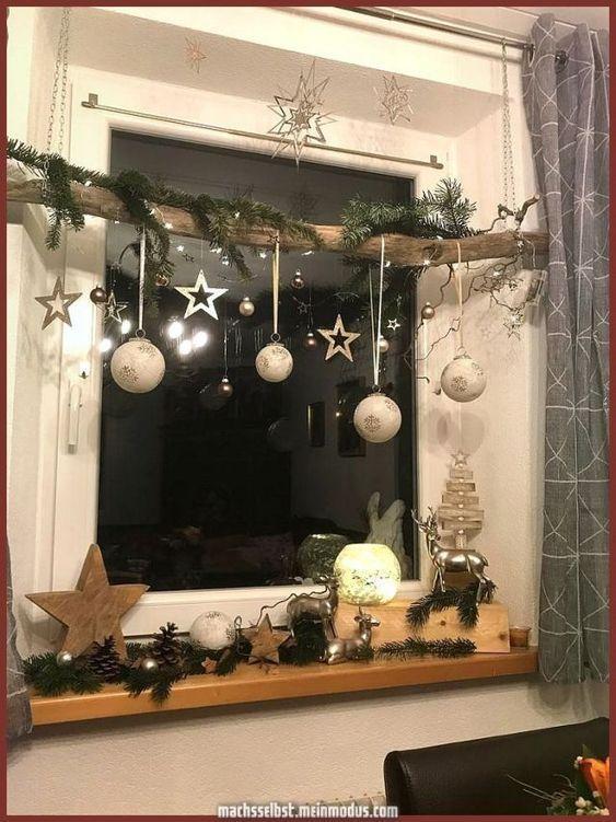 Χριστουγεννιάτικη διακόσμηση με κλαδιά δέντρων part2!