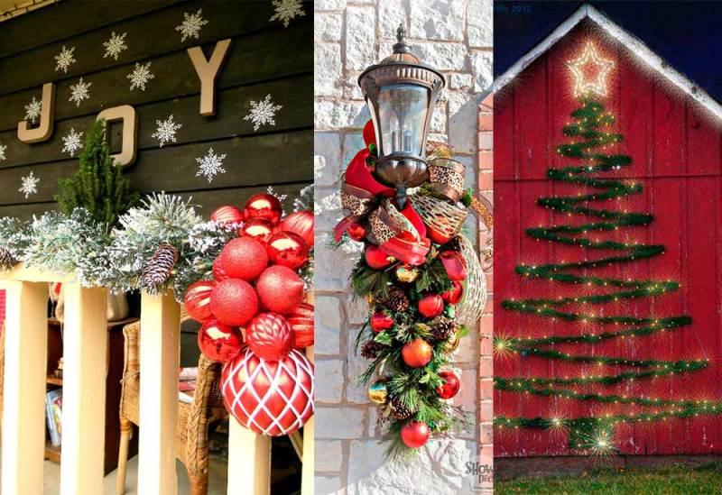 Μαγικές ιδέες για την Χριστουγεννιάτικη διακόσμηση του μπαλκονιού σας