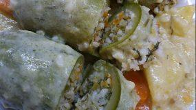 Κολοκυθάκια γεμιστά με ρύζι χωρίς κιμά (νηστίσιμα)
