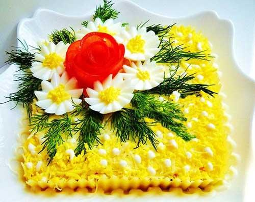 Χριστουγεννιάτικη σαλάτα με κόκκινο λάχανο . προλ