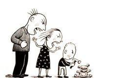 Ο θυμός δεν λύνει προβλήματα, δημιουργεί θυμωμένες οικογένειες