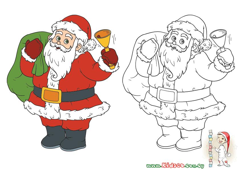 Εκτυπώνουμε υπέροχα χριστουγεννιάτικα σχέδια για Ζωγραφική και Τελίτσες με τον Άγιο Βασίλη!