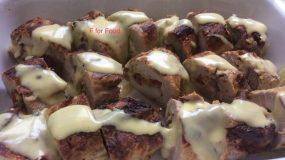 Ψαρονέφρι στη λαδόκολλα γεμιστό με τυρί μπέικον και μανιτάρια