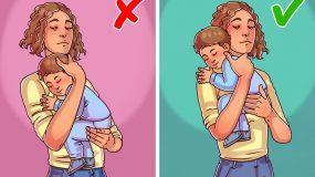 ΠΡΟΣΟΧΗ: Οι τρόποι που κρατάμε ένα μωρό μπορούν να βλάψουν την υγεία του!Δείτε ποιοι είναι οι σωστοί