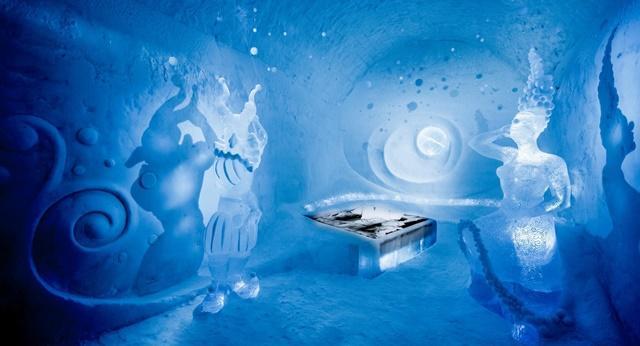 Δείτε μαγευτικές εικόνες από ξενοδοχείο στη Σουηδία που είναι ολοκληρωτικά φτιαγμένο από πάγο
