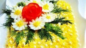 Χριστουγεννιάτικη σαλάτα με μελιτζάνες, καρύδια και παρμεζάνα