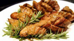 Πεντανόστιμο ψαρονέφρι με κυδώνια και μέλι για το γιορτινό σας τραπέζι