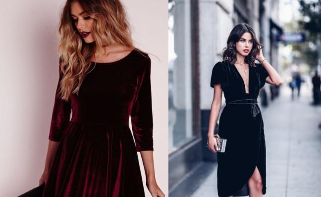 21 βελούδινα φορέματα για το Πρωτοχρονιάτικο ρεβεγιόν