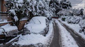 Έκτακτο δελτίο ΕΜΥ: Ραγδαία επιδείνωση του καιρού χιόνι και στα πεδινά & Ανεμοθύελλες