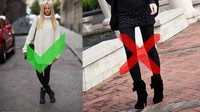 Δείτε ποια συνηθισμένα λάθη κάνουμε όταν φοράμε κολάν και πως μπορούμε να τα αποφύγουμε