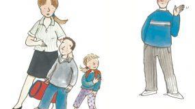 Σε ένα διαζύγιο τα παιδιά είναι πάνω απ'όλα, δεν χωρίζονται ούτε μοιράζονται
