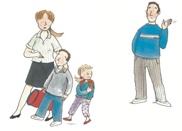 Σε ένα διαζύγιο τα παιδιά είναι πάνω απ'όλα, δεν χωρίζονται ούτε μοιράζονται!