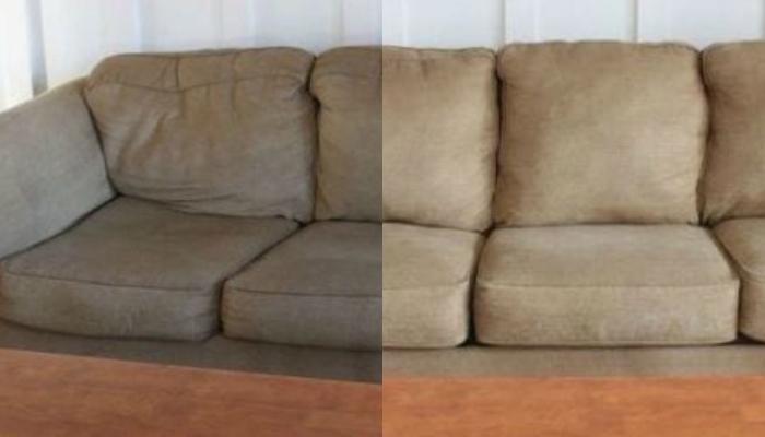"""Έχει """"κάτσει"""" ο καναπές σας; Διορθώστε τον εύκολα και ανέξοδα!"""