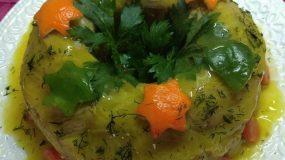 Λαχανοντολμάς σε φόρμα κέικ! Ιδανικό συνοδευτικό για μπουφέ