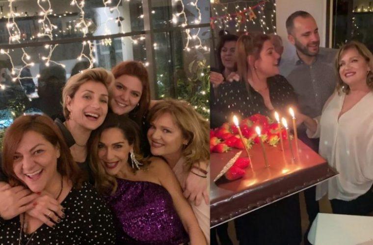 Τα γενέθλια της Μαρίας Καβογιάννη στο σπίτι της Βανδή – Φωτογραφίες και βίντεο από το πάρτι
