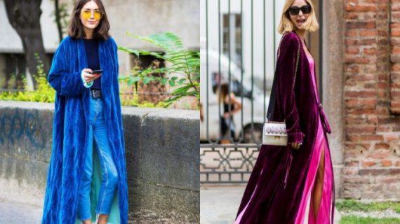 24 προτάσεις για να φορέσετε το παλτό σας-Το βελούδινο είναι η τάση του 2020
