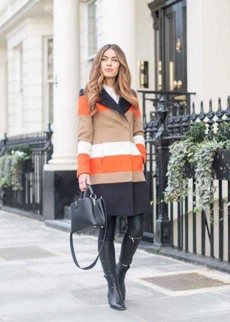 15 Προτάσεις για παλτό με ρίγες για την πιο safe και μοντέρνα εμφάνιση