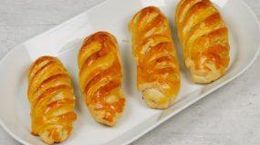 Αφράτα κοτοπιτάκια με μπεικον, μανιτάρια, και πιπεριές!