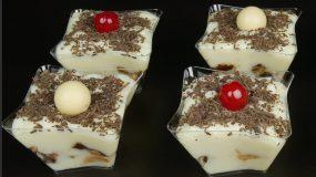 Λαχταριστό προφιτερόλ με λευκή σοκολάτα και πέντε μόνο υλικά