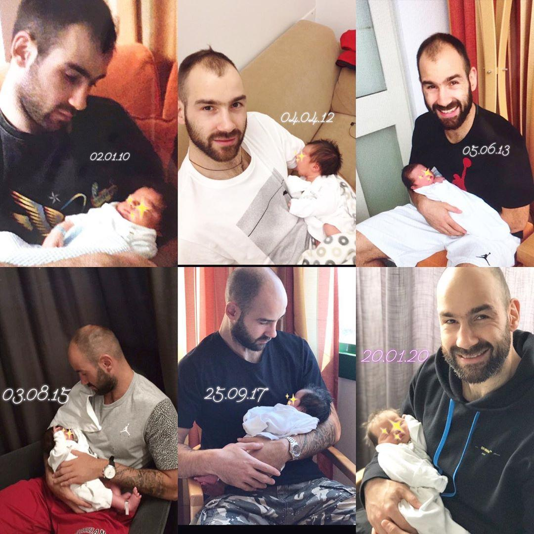 Νέες τρυφερές φωτογραφίες από το νεογέννητο μωρό του Σπανούλη-Χοψονίδου