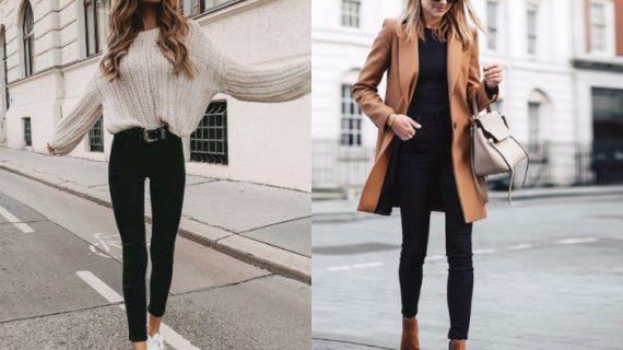 Προτάσεις για να φορέσεις τα skinny jeans σου τον Χειμώνα
