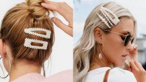 Τα τσιμπιδάκια επέστρεψαν και αποτελούν την τάση του 2020 στα μαλλιά