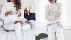 Προτάσεις για total white εμφάνιση το χειμώνα
