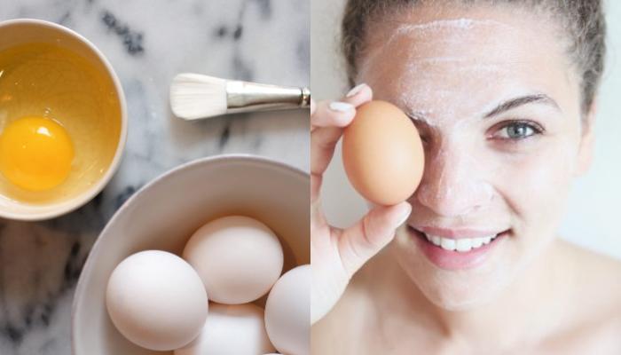Απέκτησε το πιο λαμπερό πρόσωπο χρησιμοποιώντας ασπράδι αυγού!