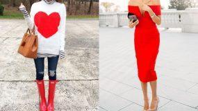 Άγιος Βαλεντίνος: 20 γυναικεία outfits για να είστε πανέμορφες αυτή τη ξεχωριστή μέρα!