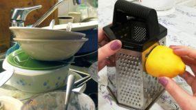 Έξυπνα κόλπα για να διατηρήσετε τη κουζίνα σας καθαρή ενώ μαγειρεύετε!