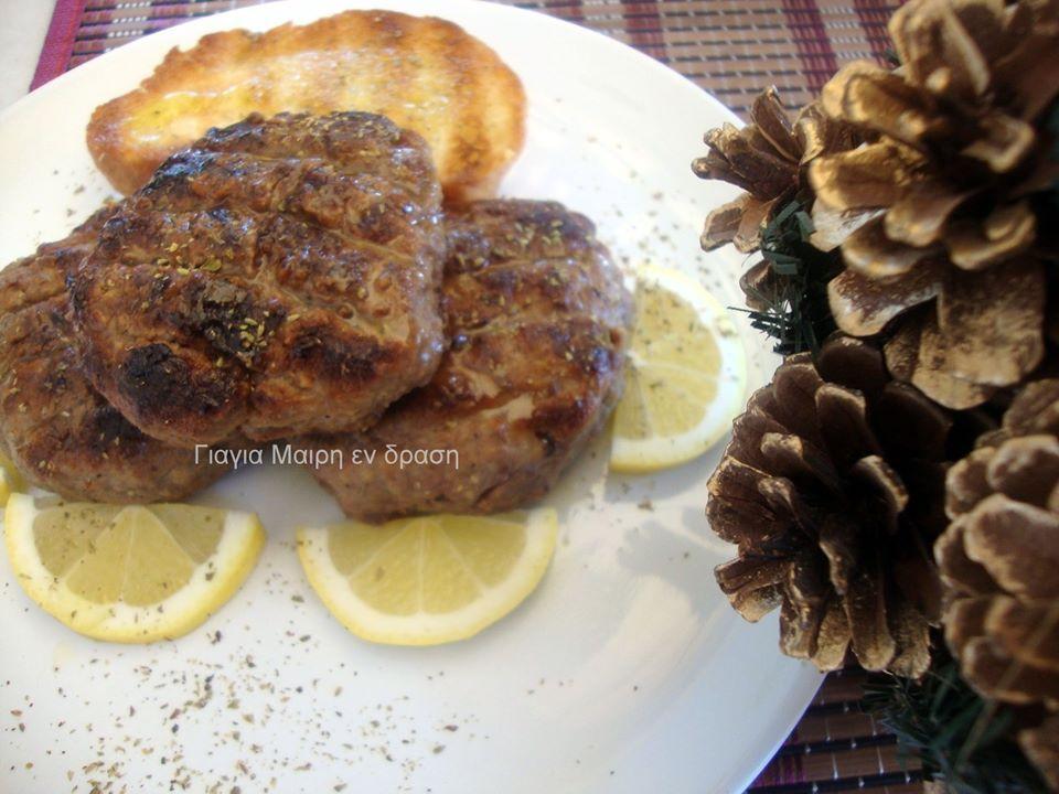 Συνταγή για μπιφτέκια στα κάρβουνα